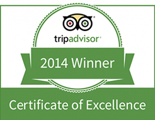 TripAdvisor, review, badge, certificate of excellence, 2014, Olerai, Olerai House, Naivasha, Lake Naivasha, Elephant Watch Portfolio. Nairobi, Kenya