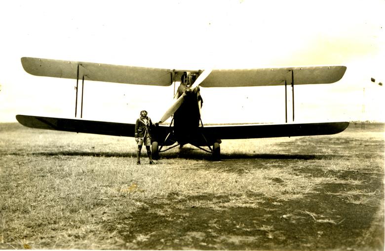 Dorian and plane
