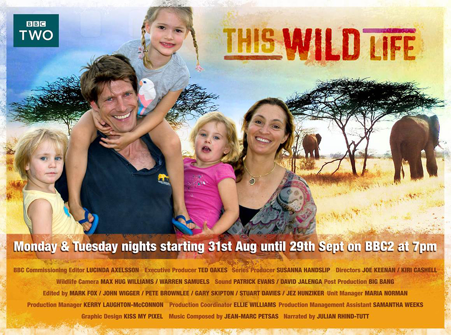 This Wild Life – A New 12 part BBC Series starting on the 31st August at 7pm on BBC2