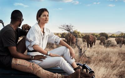An Internship in Samburu – Meeting a Super Model